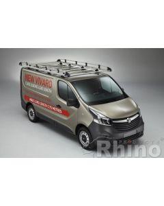 Rhino Aluminium Roof Rack - AH629 Renault Trafic 2014 onwards