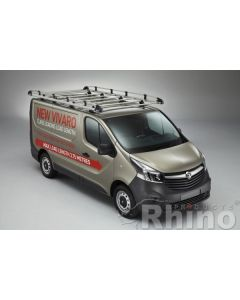 Rhino Aluminium Roof Rack - AH634 Fiat Talento 2016 onwards