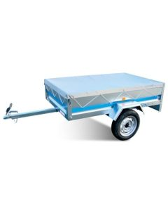 Flat Trailer Cover, fits MP6815 and Erde 143, 153 Trailers