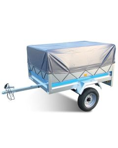 High Trailer Cover with Frame, fits MP6815 and Erde 143, 153 Trailers