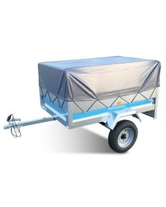 High Trailer Cover with Frame, fits MP6810 and Erde 102 Trailers