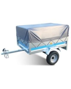 High Trailer cover with Frame, fits MP6812 and Erde 122 Trailers