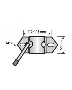 MP224 42MM MEDIUM DUTY CLAMP