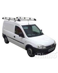 Rhino Aluminium Roof Rack - ASP20 Vauxhall Combo