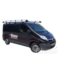 Rhino Aluminium Roof Rack - AH504 Vauxhall Vivaro 2001-2014