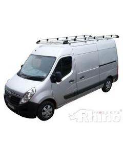 Rhino Aluminium Roof Rack - AH607 for Vauxhall Movano 2010 onwards