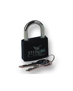 Sterling BL4BK - Black 40mm Padlock