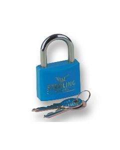 Sterling BL4BL - Blue 40mm Padlock