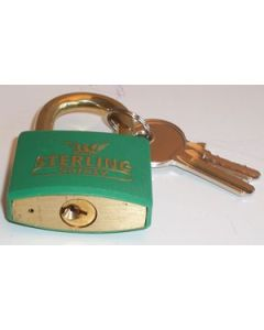Sterling BL4G - Green 40mm Padlock