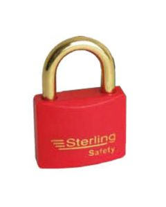 Sterling BL4R - Red 40mm Padlock