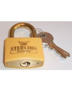 Sterling BL4O -  Orange 40mm Padlock