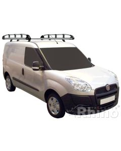 Rhino Aluminium Roof Rack - AH602 Fiat Doblo 2010 onwards