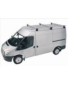 Rhino Delta 3 Bar Roof System - A3D-B83 Ford Transit