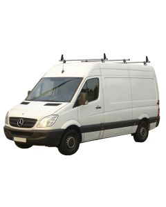 Rhino Delta 3 Bar Roof System - MC3D-B63 Volkswagen Crafter *T-TRACK SYSTEM ONLY*