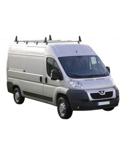 Rhino Delta 4 Bar Roof System - IA4D-B64 Peugeot Boxer 2006 onwards