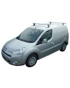 Rhino Delta 2 Bar Roof System - GA2D-B32 Peugeot Partner 2008-2018