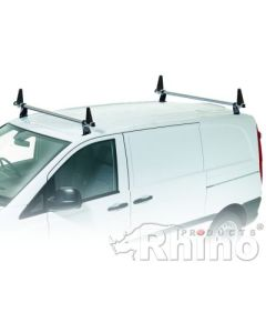 Rhino Delta 2 Bar Roof System - RA2D-B42K Mercedes Vito 2015 onwards