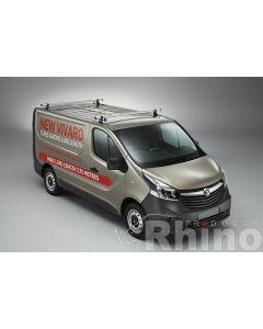 Rhino Delta 3 Bar Roof System - VA3D-B63P Vauxhall Vivaro 2014-2019